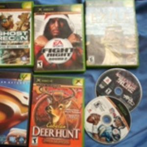 Other - 7 xbox games